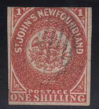 0009NF1711 - Newfoundland #9 - Used - Deveney Stamps Ltd. Canadian Stamps