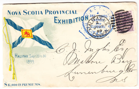 0076NS1903 - #76 on 'NOVA SCOTIA PROVINCIAL EXHIBITION' Advertising Cover