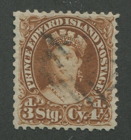 0010PE1707 - Prince Edward Island #10 - Used - Deveney Stamps Ltd. Canadian Stamps
