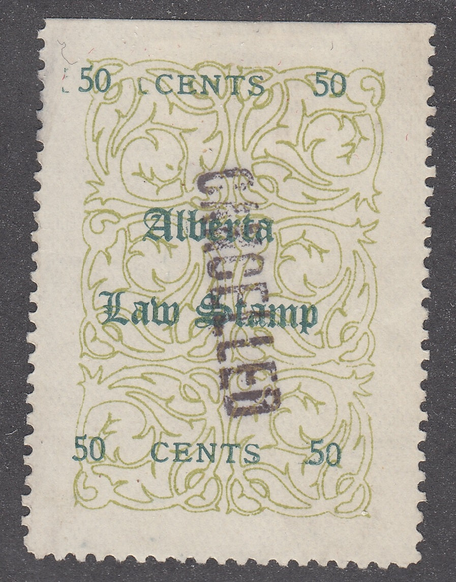 0012AL1711 - AL12 - Used - Deveney Stamps Ltd. Canadian Stamps