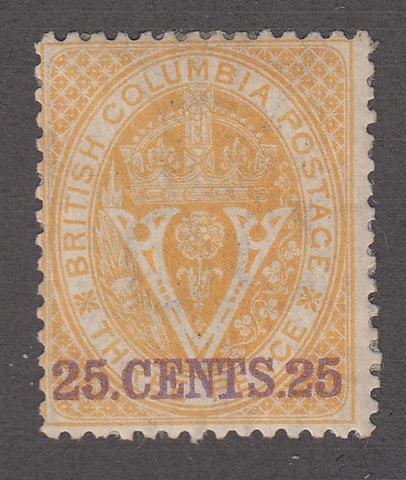 0011BC1712 - British Columbia #11 - Mint