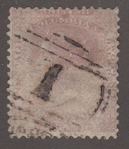 0002BC1708 - British Columbia #2a - Used, New Westminster - Deveney Stamps Ltd. Canadian Stamps
