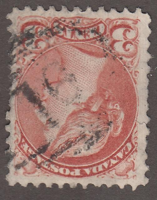 0116BC1708 - British Columbia Numeral Cancel '16' on SQ