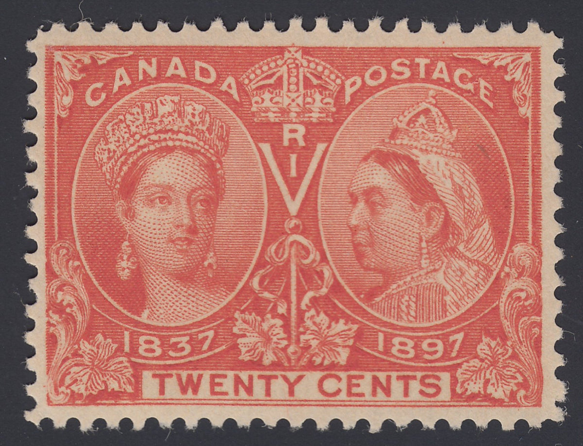 0059CA1808 - Canada #59v - Mint, Major Re-entry