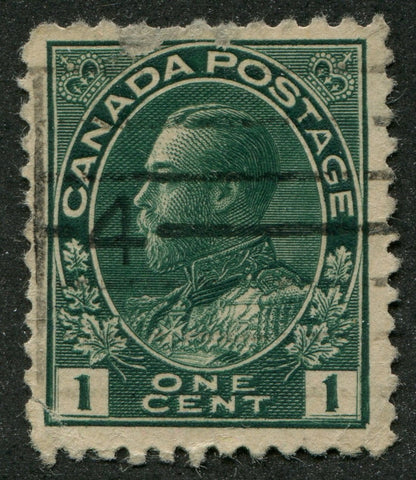 0104CA1708 - Canada #104vii - Used, Major Re-Entry