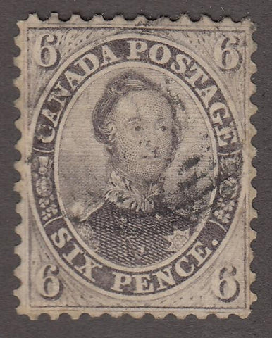 0013CA1708 - Canada #13i - Used Stitch Watermark - Deveney Stamps Ltd. Canadian Stamps
