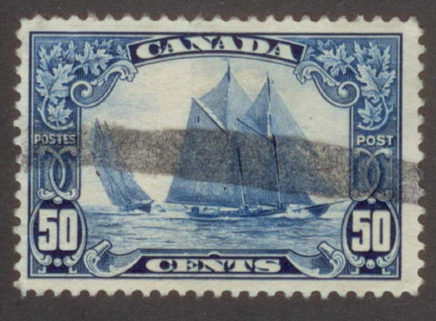 0158CA1708 - Canada #158iii - Used, Man on the Mast Variety