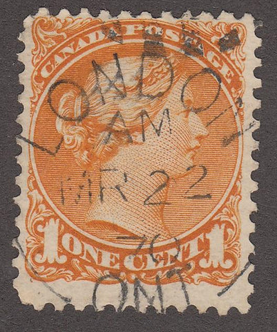 0035CA1708 - Canada #35 - Very Early Date