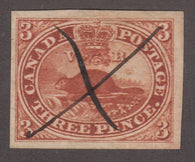 0004CA1708 - Canada #4iii - Deveney Stamps Ltd. Canadian Stamps