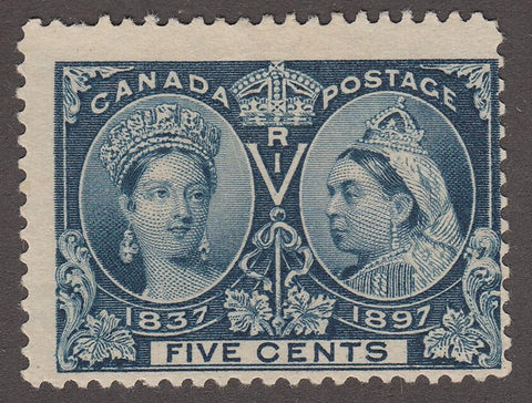 0054CA1708 - Canada #54ii - Mint, Major Re-entry