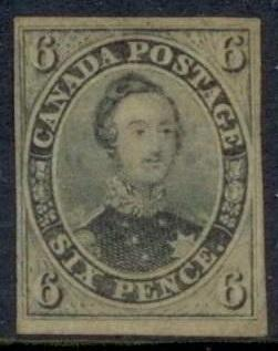 0005CA1708 - Canada #5 - Deveney Stamps Ltd. Canadian Stamps