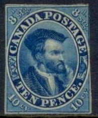 0007CA1708 - Canada #7 - Deveney Stamps Ltd. Canadian Stamps