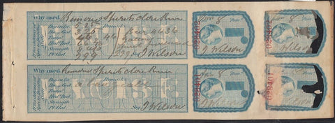 0002LA1708 - FLS2a - Used Booklet Pane - Deveney Stamps Ltd. Canadian Stamps