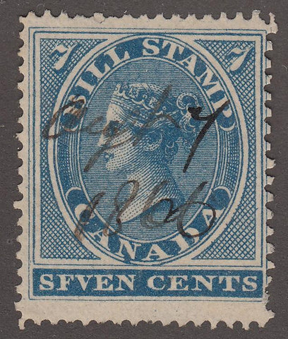 0007FB1707 - FB7a - Used 'SFVEN' error - Deveney Stamps Ltd. Canadian Stamps