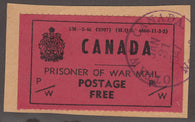 0006PW1708 - PWF6 - Used - Deveney Stamps Ltd. Canadian Stamps