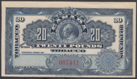 0200FT1708 - 20 Pounds Tobacco - Mint Label, 1897