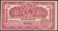 0600FT1708 - 60 Pounds Tobacco - Mint Label, 1897