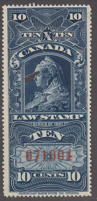 0007SC1712 - FSC7 - Used - Deveney Stamps Ltd. Canadian Stamps