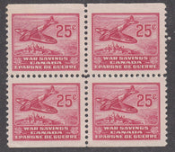 0006WS1807 - FWS6 - Mint Block of 4