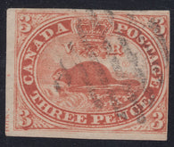 0004CA1712 - Canada #4xii - Used Major Re-Entry