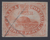 0004CA1712 - Canada #4d, xiii - Used Major Re-Entry