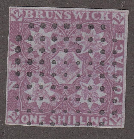 0003NS1708 - New Brunswick #3 - Used - Deveney Stamps Ltd. Canadian Stamps