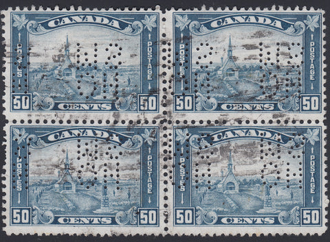 0220CA1804 - Canada OA176s 'D' - Used Block of 4