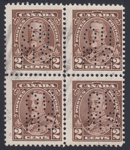 0248CA1804 - Canada OA218s 'A' - Used Block of 4