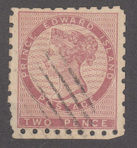 0001PE1711 - Prince Edward Island #1 - Used - Deveney Stamps Ltd. Canadian Stamps