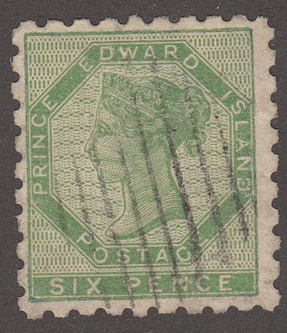 0003PE1708 - Prince Edward Island #3 - Used - Deveney Stamps Ltd. Canadian Stamps