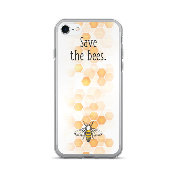 brand new 3595e 07a0d Save the Bees iPhone 7/7 Plus Case