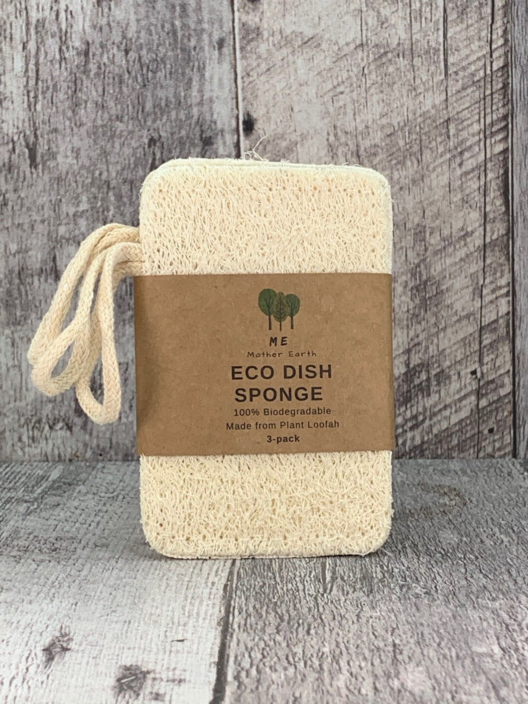 Loofah Double Layer Dish Sponges - 3 Pack