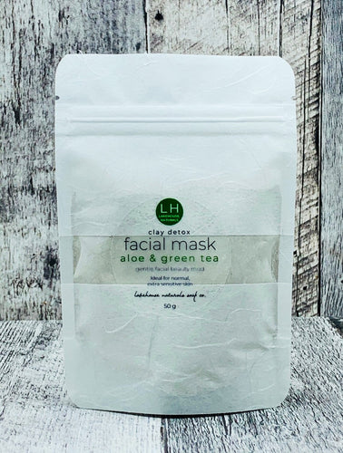 Facial Mud - Aloe & Green Tea