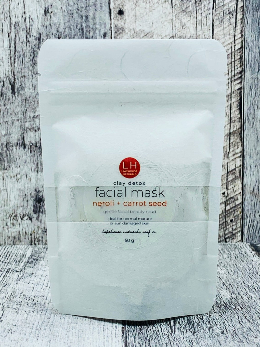 Facial Mud - Neroli & Carrot Seed