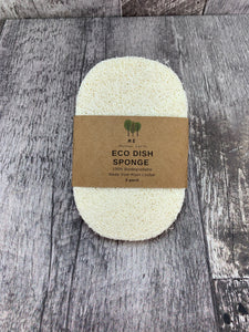 Loofah Dish Sponges - 3 Pack