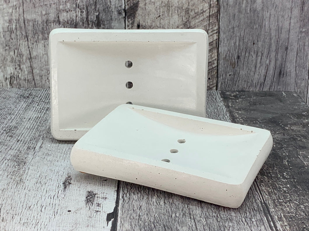 Concrete Soap Dish - 3 hole