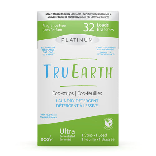 Tru Earth Laundry Strips - Platinum Fragrance Free