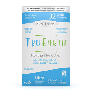 Tru Earth Laundry Strips - Platinum Fresh Linen