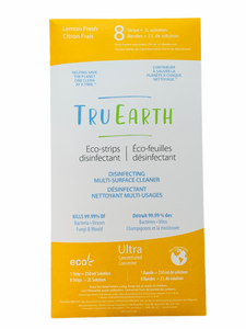 Tru Earth Disinfectant Strips - Lemon Fresh