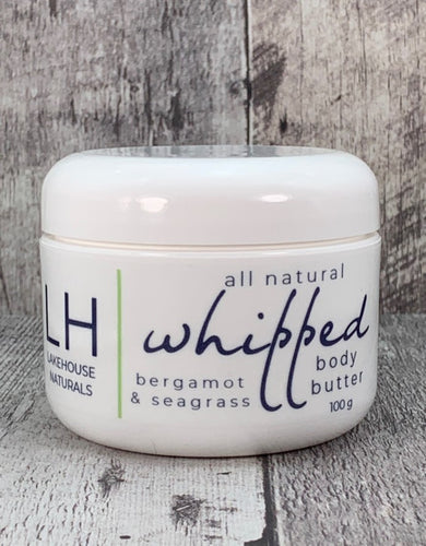 Whipped Body Butter - Bergamot & Seagrass