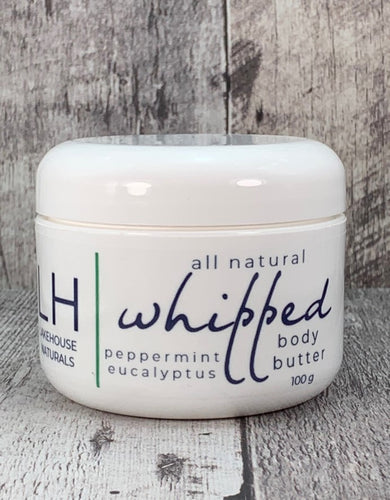 Whipped Body Butter - Peppermint Eucalyptus