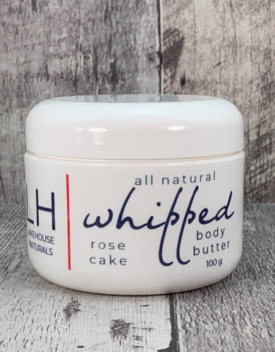 Whipped Body Butter - Rose Cake