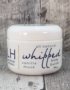 Whipped Body Butter - Vanilla Musk