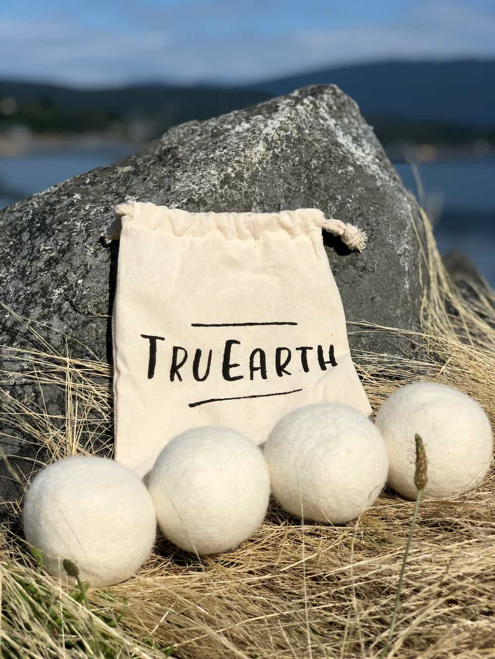 Tru Earth Dryer Balls - 4 pack with cotton bag