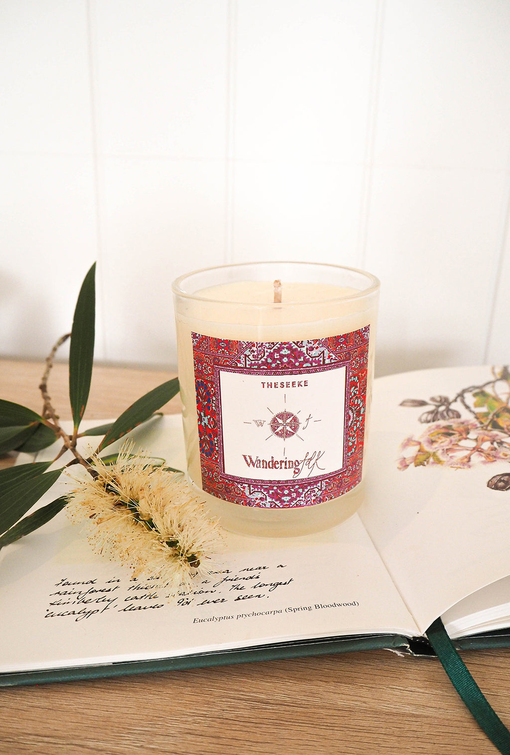 Theseeke x Wandering Folk Soy Wax Candle