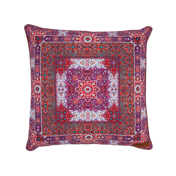 Crimson Sunset Cushion cover