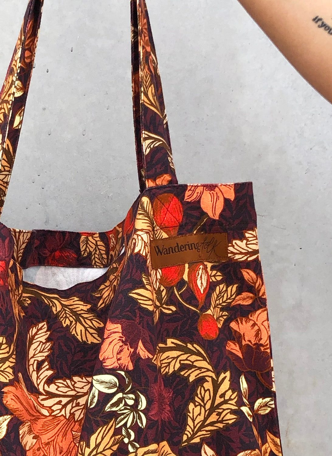Charity Picnic Tote Bag - Spice