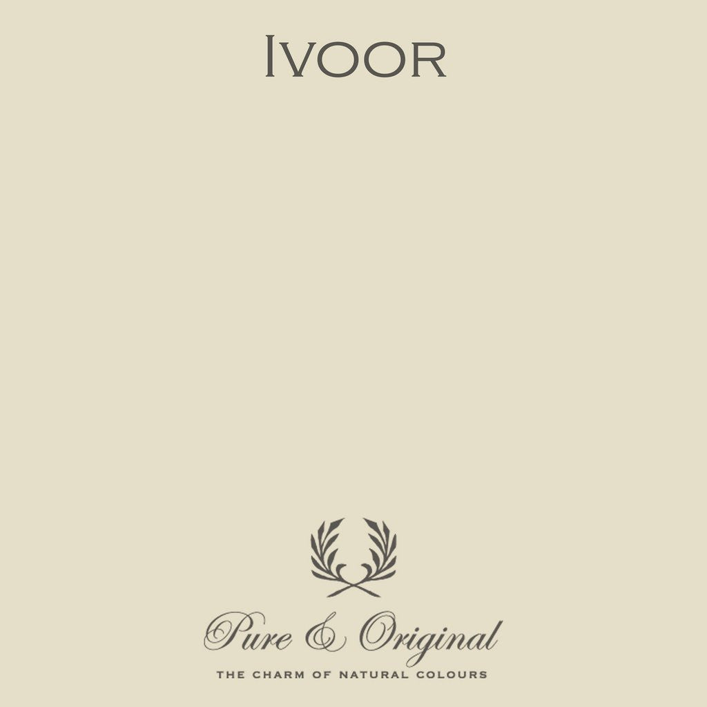 Ivoor White- Pure & Original Paint - Cara Conkle Decorative Finishes