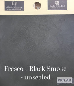 Fresco Lime Paint in Black Smoke