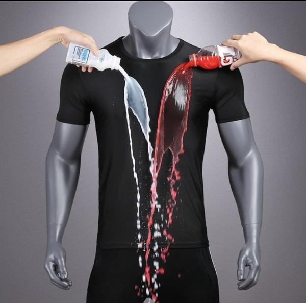 Instacool Anti-Dirty Hydrophobic Quick-Dry T-Shirt